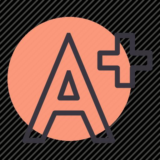 a, cinema, content, educational, movie, plus, value icon