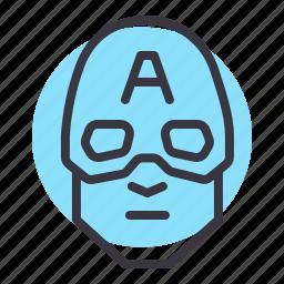 america, avatar, captain, comic, marvel, movie, superhero icon