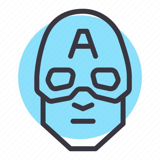 america, avatar, captain, comic, marvel, movie, superhero icon