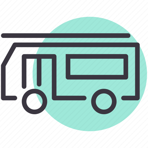 automobile, caravan, film, shooting, transport, travel, vehicle icon
