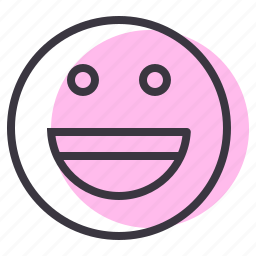 emoticon, emotion, fun, genre, happy, laugh, smiley icon
