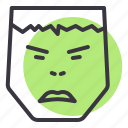 angry, avatar, character, comic, hulk, movie, superhero icon