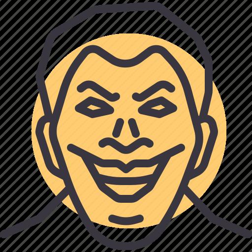 antihero, avatar, character, joker, movie, villain icon