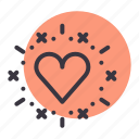 genre, heart, love, movie, romance, valentine icon