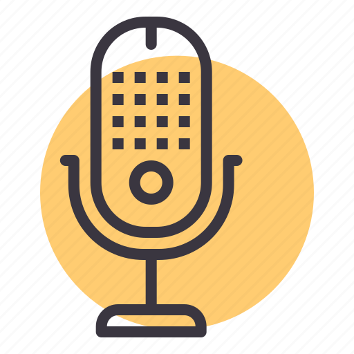 loud, microphone, mike, music, sing, speak, speech icon