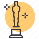 award, cinema, film, honor, movie, oscar, prize icon