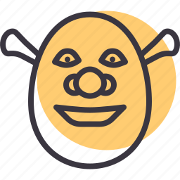 animation, cartoon, character, movie, ogre, shrek icon