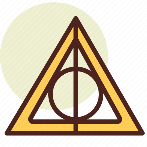 Cinema, deathly, film, hallows, hollywood icon - Download on Iconfinder