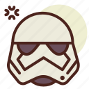 cinema, film, hollywood, storm, trooper