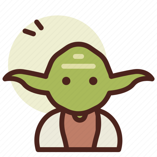 Cinema, film, hollywood, yoda icon - Download on Iconfinder