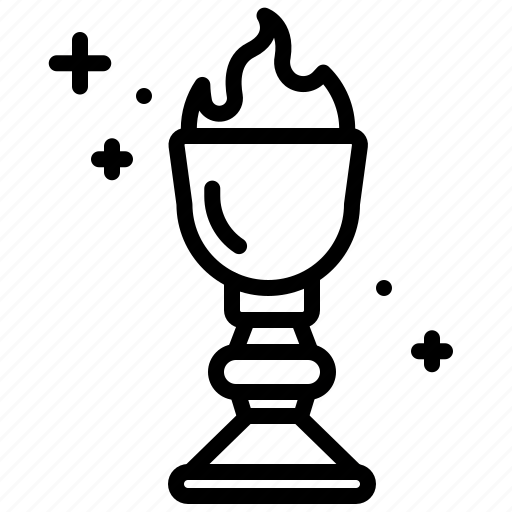 Cinema, film, fire, goblet, hollywood, of icon - Download on Iconfinder