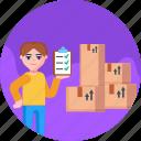 clipboard, moving, check, checklist, list