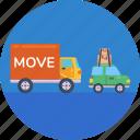 van, moving, truck, moving home truck, moving home