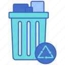 junk, disposal, services icon