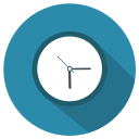 clock, time, watch icon