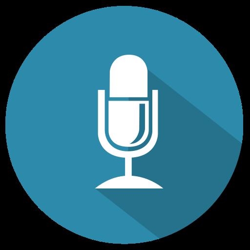 mic, microphone, multimedia, record, recording, speak, talk, voice icon