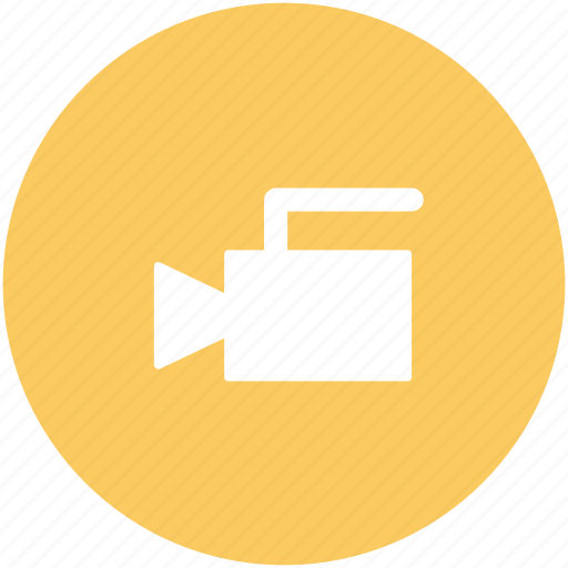 camera, film camera, film recorder, movie camera, movie shoot, video camera icon