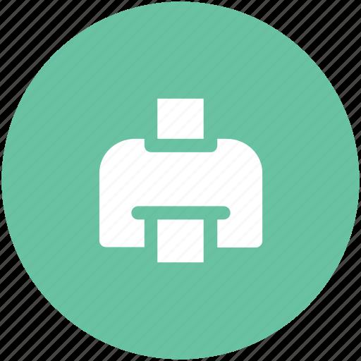 fax, inkjet printer, laser printer, printer, printing machine, telefex icon