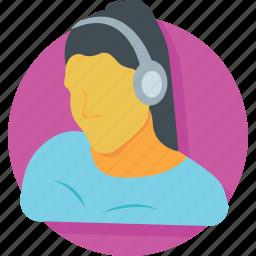 disc jockey, dj, enjoyment, headphones, music icon