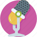 audio, mic, microphone, recording, speak icon