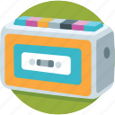 cassette player, multimedia, music, walkman icon