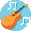 chordophone, fiddle, guitar, music, violin icon