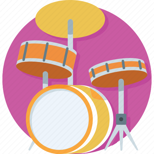 drums, melody, music, music instruments, snare drum icon