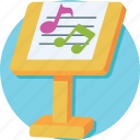 bass, concert, lyrics, music, music notes icon