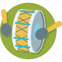 drum, hand drum, instrument, music, percussion icon
