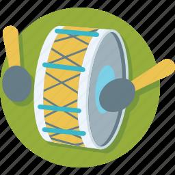 drum, hand drum, instrument, music, percussion icon