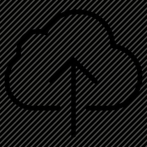 cloud, data, database, internet, online, server, upload icon