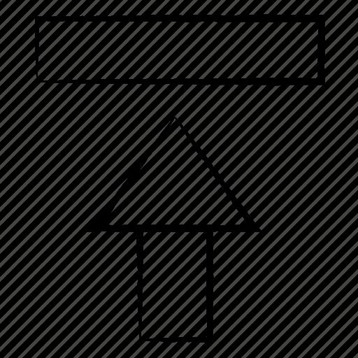 Arrow, media, up, upload icon - Download on Iconfinder