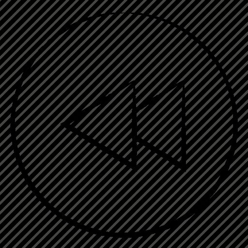 Back, control, media, rewind icon - Download on Iconfinder