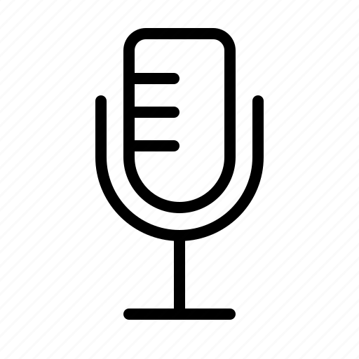 Audio, media, mic, microphone, record, recording icon - Download on Iconfinder