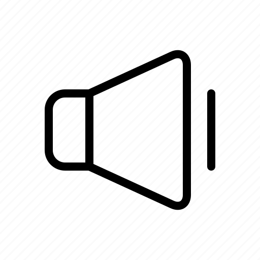 audio, multimedia, song, sound, speaker, volume icon