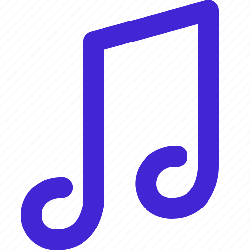 audio, music, note, notepad, quarter, song, sound icon