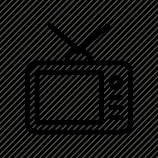 audio, multimedia, music, sound, television, tv, video icon