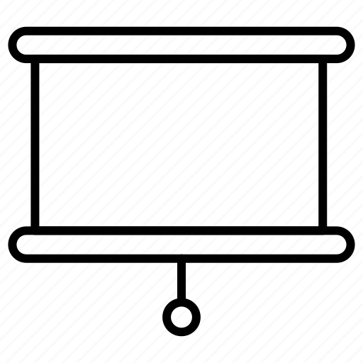 board, presentation, screen icon