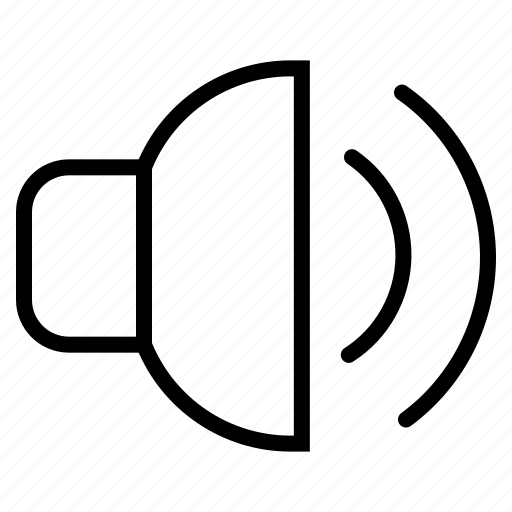 Audio, media, multimedia, music, sound, speaker, volume icon - Download on Iconfinder