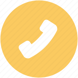call, contact, customer service, phone, phone receiver, talk, telephone icon