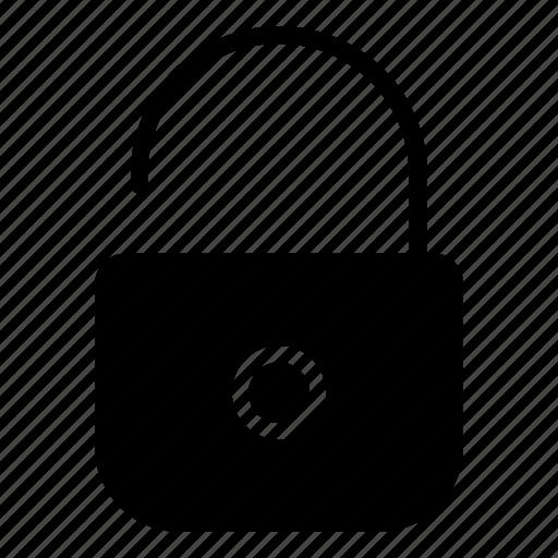 lock, padlock, password, protection, security, shield icon