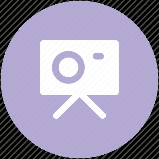 digicam, photo camera, photo shot, photography, tripod camera icon