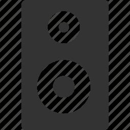 audio, loud, music, speaker, stereo icon