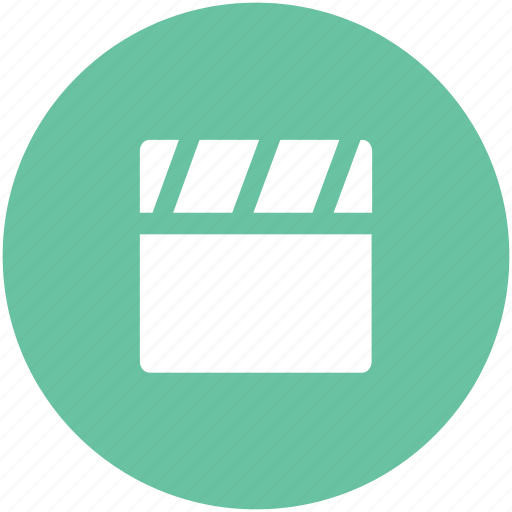 clapboard, clapper, clapper board, multimedia, shooting clapper icon