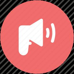 advertising, alert, announcement, bullhorn, loud hailer, megaphone, speaking-trumpet icon