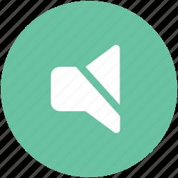 mute, mute volume, silence, sound off, speaker, voice adjuster icon