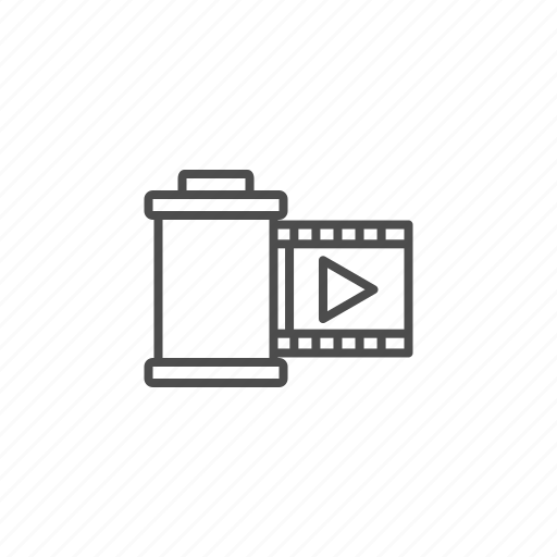 camera, film, multimedia, photo, photography, video icon