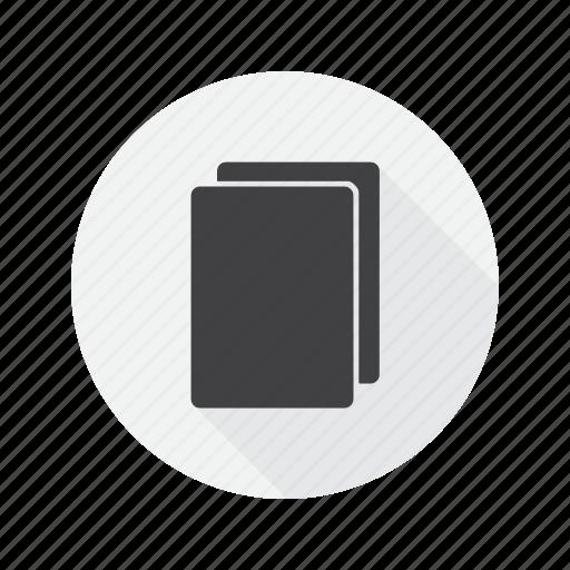 copy, duplicate, multimedia icon