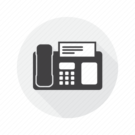 Fax, letter, machine, multimedia icon - Download on Iconfinder