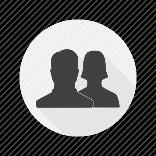 avatar, friends, multimedia, social, user icon